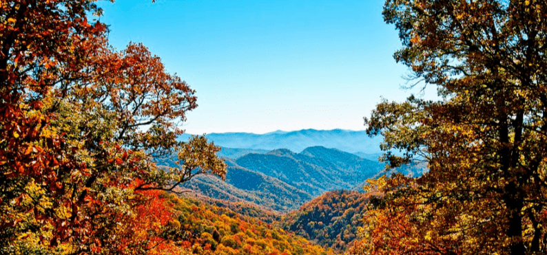 "Der ""Appalachian National Scenic Trail"""